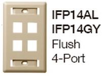 HBL-WDK IFP14AL PLATE WALLFLUSH1-G4PORTAL