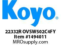 Koyo Bearing 22332R OVSW502C4FY SHAKER SCREEN BEARING