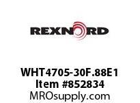 REXNORD WHT4705-30F.88E1 WHT4705-30 F.875 T10P WHT4705 30 INCH WIDE MATTOP CHAIN W