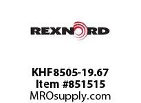 REXNORD KHF8505-19.67 KHF8505-19.67 KHF8505 19.67 INCH WIDE RUBBERTOP M