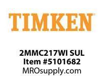 TIMKEN 2MMC217WI SUL Ball P4S Super Precision