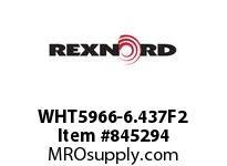 REXNORD WHT5966-6.437F2 WHT5966-6.4375 F2 T5P N1 WHT5966 6.437 INCH WIDE MATTOP CHAI