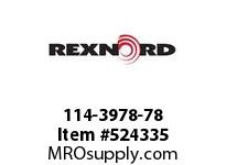REXNORD 114-3978-78 KU1500-22T 20MM KWSS NYLO 147981