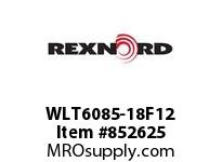 REXNORD WLT6085-18F12 LT6085-18 F1.5 T12P N2 LT6085 18 INCH WIDE MATTOP CHAIN WI