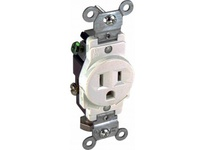 Orbit SR15-TR-I 15A 120V SINGLE RECEPTACLE TAMPER RESISTANT - IVORY