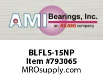 AMI BLFL5-15NP 15/16 NARROW SET SCREW NICKEL 2-BOL ROW BALL BEARING