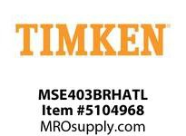 TIMKEN MSE403BRHATL Split CRB Housed Unit Assembly