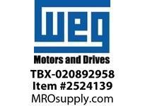 WEG TBX-020892958 TERMINAL BOX PARTS