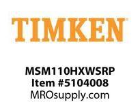 TIMKEN MSM110HXWSRP Split CRB Housed Unit Component