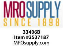 MRO 33406B 3/8 X 1/4 BLK POLY RED HB UNION (Package of 10)