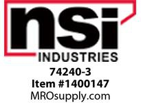 NSI 74240-3 BLACK KNOB FOR C500 SERIES