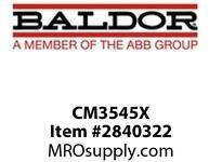 BALDOR CM3545X 1HP 3450RPM 3PH 60HZ 56C 3416M TEFC F1N