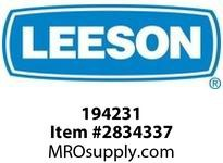 Leeson 194231 30HP1200RPM.326T.TEFC.230/460V.3PH. 60HZ.CONT.40C.1.15SF.RIGIDROLLER BRGS :