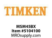 TIMKEN MSM45BX Split CRB Housed Unit Component