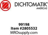 Dichtomatic 99198 STAINLESS STEEL SHAFT SLEEVE SHAFT SLEEVE