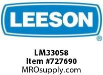 Leeson LM33058 3Hp 3600.145T Odp 200/400V 3Ph 60Hz Cont 40C Rigid