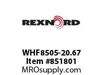REXNORD WHF8505-20.67 WHF8505-20.67 WHF8505 20.67 INCH WIDE RUBBERTOP M