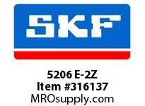 SKF-Bearing 5206 E-2Z
