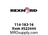 REXNORD 114-183-16 KU880-12T 1-3/8 IDLER NYL 141864
