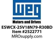 WEG ESWCX-25V18N79-R30BD XP FVNR 7.5HP/460 N79 120V Panels