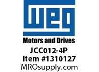 WEG JCC012-4P 4P 12A 4NO CON CWC AC COIL Contactors