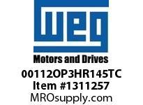 WEG 00112OP3HR145TC 1HP 1200 60 575V ODP-High Eff