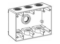 Orbit 3DB50-7 3-G W/P BOX 7 1/2^ HUBS 2-5/8^ DEEP