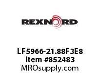 REXNORD LF5966-21.88F3E8 LF5966-21.875 F3 T8P LF5966 21.875 INCH WIDE MATTOP CHAI
