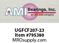 AMI UGFCF207-23 1-7/16 WIDE ECCENTRIC COLLAR PILOTE CARTRIDGE SINGLE ROW BALL BEARING