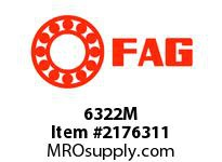 FAG 6322M RADIAL DEEP GROOVE BALL BEARINGS