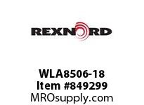 REXNORD WLA8506-18 WLA8506-18 WLA8506 18 INCH WIDE MATTOP CHAIN W