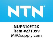 NTN NUP310ET2X CYLINDRICAL ROLLER BRG