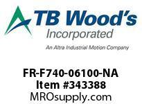 TBWOODS FR-F740-06100-NA VT INV 500HP(SLP)450HP(LD)480V