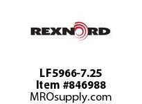 REXNORD LF5966-7.25 LF5966-7.25 LF5966 7.25 INCH WIDE MATTOP CHAIN