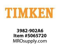 TIMKEN 3982-902A6 TRB Two-Single-Row Assembly 4-8 OD