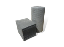 MBT GDM100 Dimpled absorbent mats combine a low-linting surface and cost savings. They absorb most non-aggressive fluids which includes oil (hydrocarbon-based fluids) water glycols etc. A :