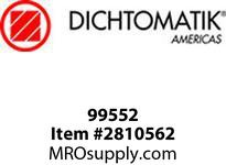Dichtomatic 99552 STAINLESS STEEL SHAFT SLEEVE SHAFT SLEEVE