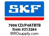SKF-Bearing 7006 CD/P4ATBTB
