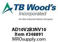 TBWOODS AD10V2B3NV10 VOLK AD2 10HP 230V V10 SOF N12