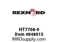 REXNORD HT7708-9 HT7708-9 HT7708 9 INCH WIDE MATTOP CHAIN WIT