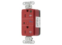 HBL_WDK SNAP8362RS HG SNAP SPD RCPT 20A 125V TR RED