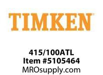 TIMKEN 415/100ATL Split CRB Housed Unit Component