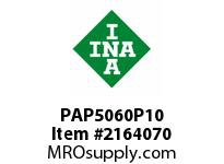 INA PAP5060P10 Plain bearing