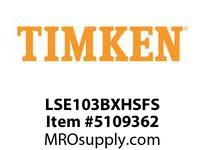 TIMKEN LSE103BXHSFS Split CRB Housed Unit Assembly