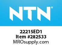 NTN 22215ED1 SPHERICAL ROLLER BRG
