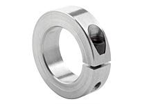 "Climax Metal 1C-231-A 2 5/16\ ID SPLIT Clamp Collar AL"""
