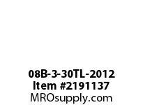 PTI 08B-3-30TL-2012 METRIC SPROCKET TAPER-LOCK TRIPLE