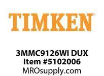 TIMKEN 3MMC9126WI DUX Ball P4S Super Precision