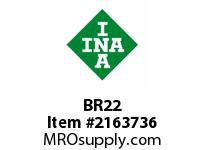 INA BR22 Snap ring housing