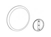 Orbit CP-5NM 5^ CEILING COVER PLATE - PLASTIC